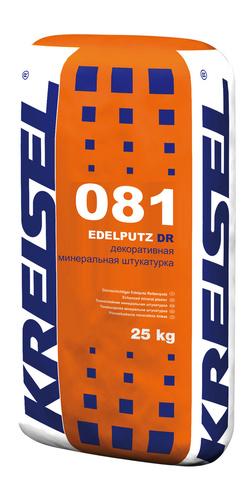 Декоративная минеральная штукатурка короед 2/3 мм EDELPUTZ DR 081 Kreisel